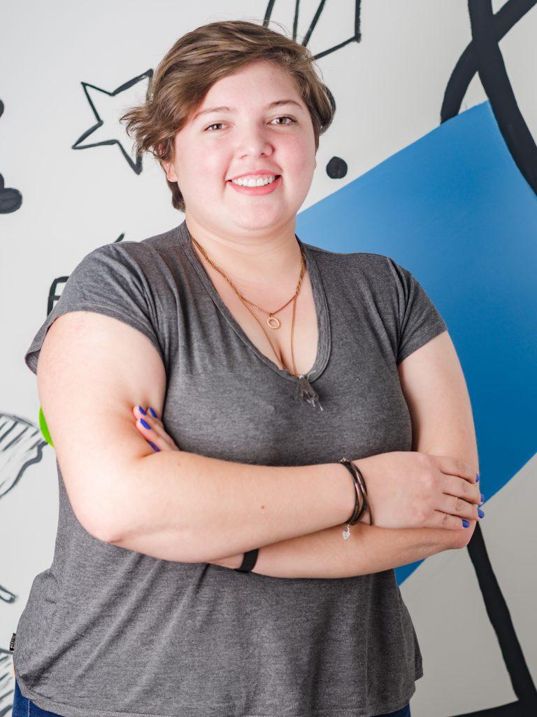 Noelia Ledesma, encargada de comunicaciones de Po Paraguay y estudiante de ingeniería en electricidad.
